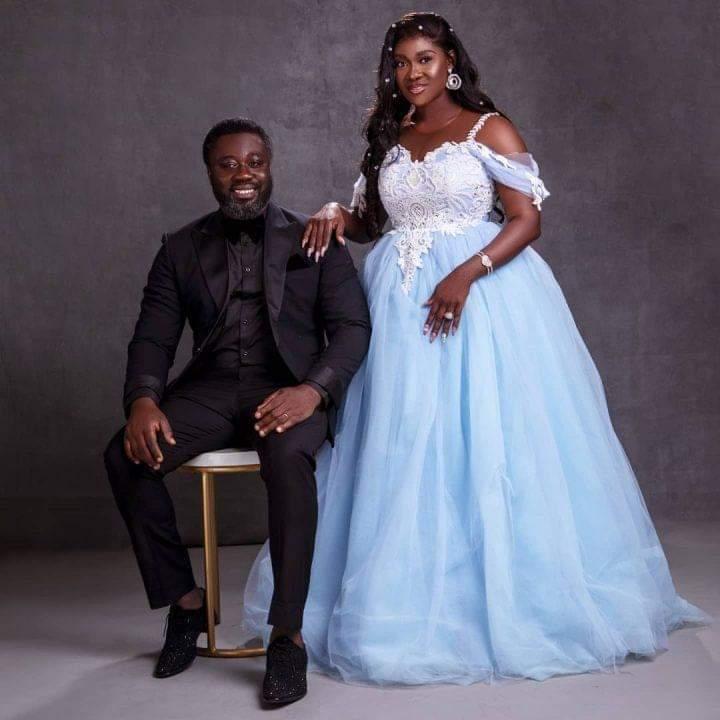 Actress, Mercy Johnson, Husband Celebrate 10th Wedding Anniversary