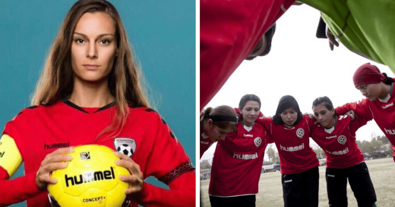 Afghan women's soccer captain urges FIFA to save her teammates