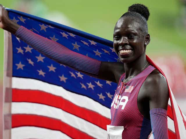 Athing Mu, 19, becomes first American to win gold in women's 800 meters