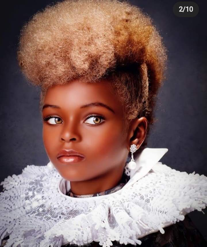 Nigeria Girl Becomes Model