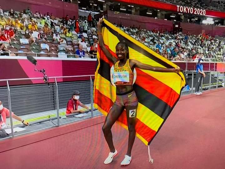 Peruth Chemutai creates history for Uganda