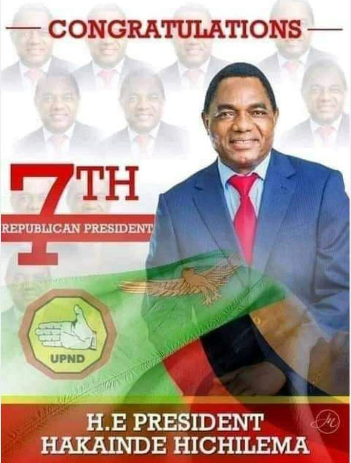 Zambian opposition leader Hichilema wins 2021 presidential election