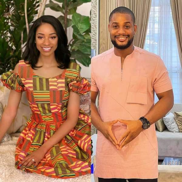 Model Fancy Acholonu, Nollywood actor Alex Ekubo's fiancee confirms rumours of break up.