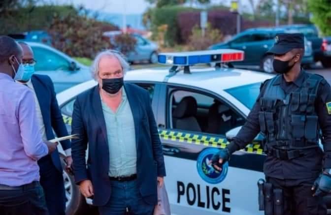Rwandahas deported Belgian lawyer