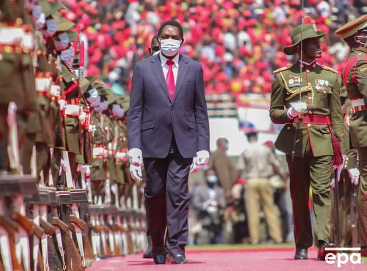 Zambia's Hakainde Hichilema sworn in as President