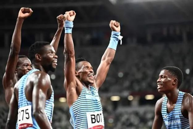 Botswana gifts houses to Olympic medal winners