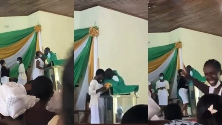 Ghanaian Anglican priest who kissed students