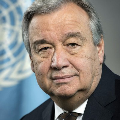 António Guterres  situation in Guinea Conakry.