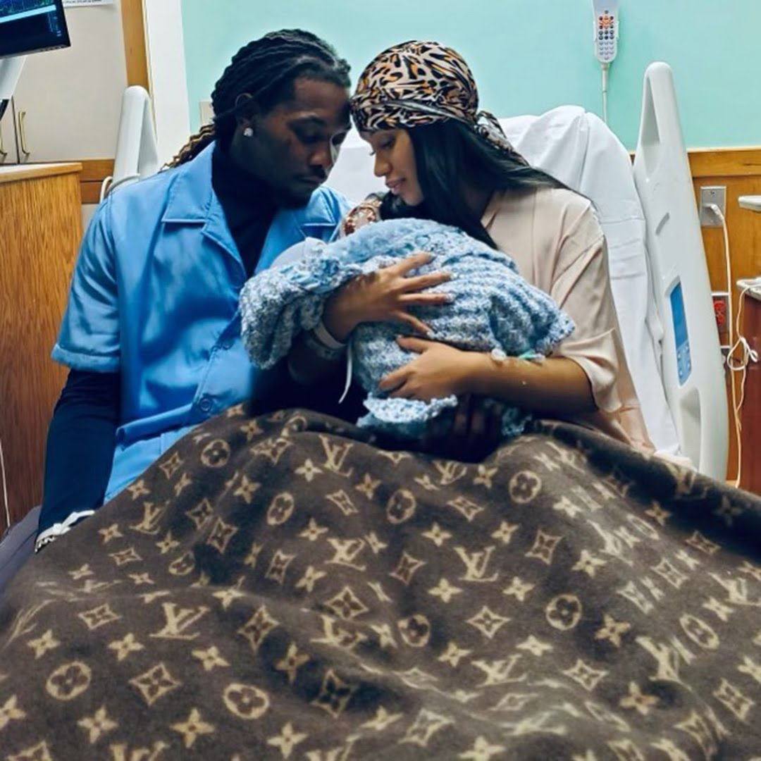 Cardi B and Offset Welcome Second Baby