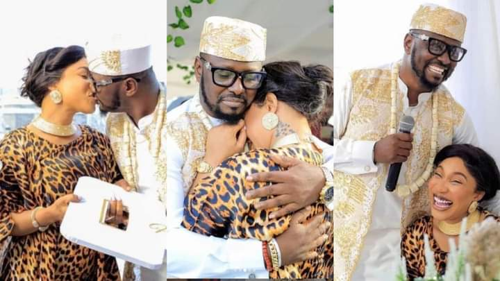 Don't leave me' — Teary Tonto Dikeh begs estranged lover in leaked audio
