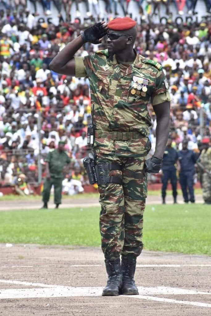 Meet Commander Mamady Doumbouya, the man who arrested 83 year-old president Alpha Conde