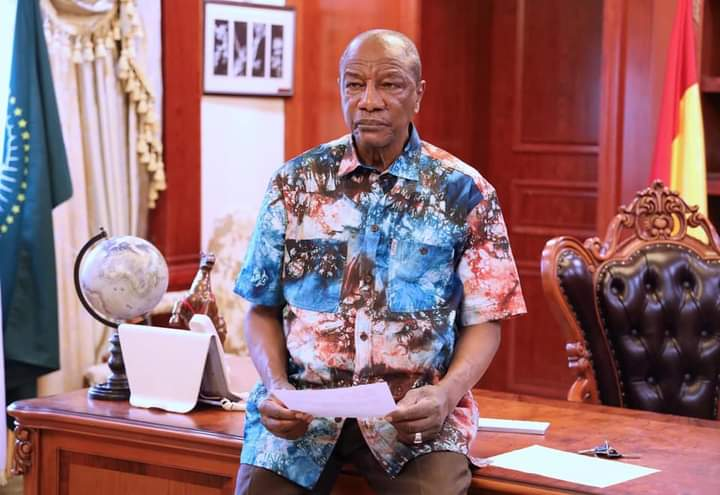 Ousted Guinea president Alpha Conde