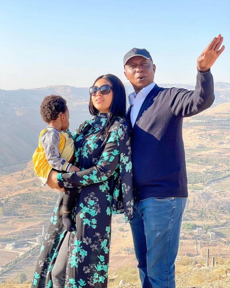 Laila Charani unfollows husband Ned Nwoko on Instagram